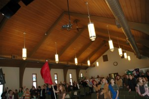 Sunday Worship in the Sanctuary