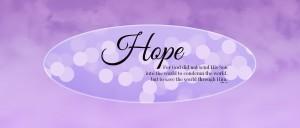 Advent week #1 - Hope