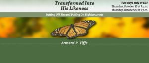 Bible Study: Transformed Into His Likeness