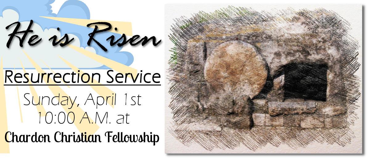 Easter: Resurrection Sunday