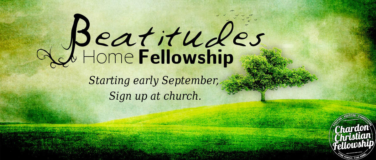 Home Fellowship - Beatitudes 2018
