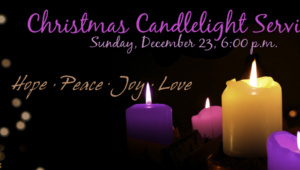 Christmas Candlelight Service 2018