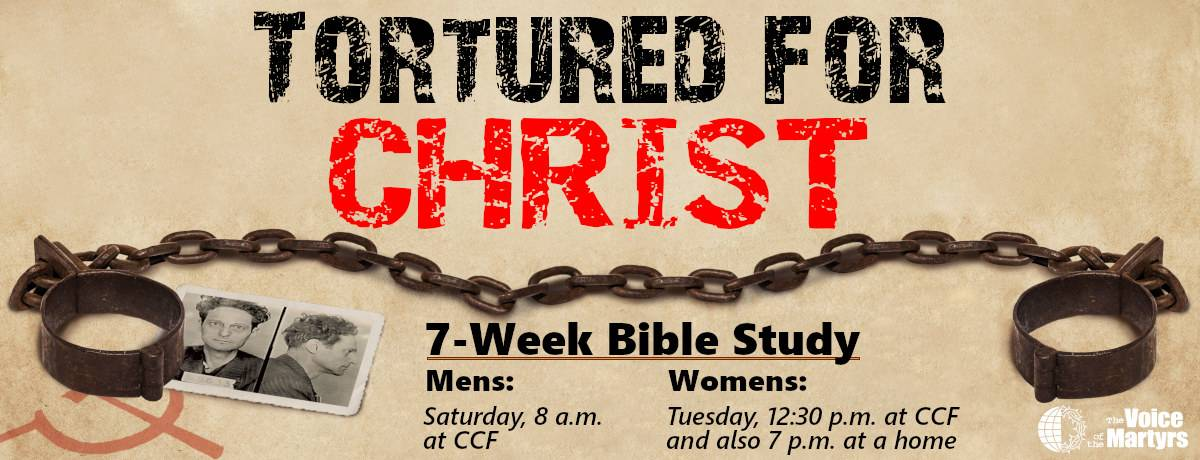 Tortured for Christ bible study