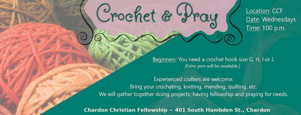 Crochet and Pray